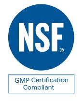NSF GMP Certified Logo