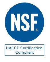 NSF HACCP Certified Logo